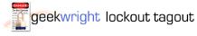 geekwright lockout tagout